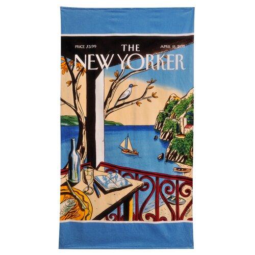 Home Source International Conde Nast New York Sailboat Beach Towel