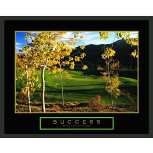 Frames By Mail Motivational Success Framed Photographic Print