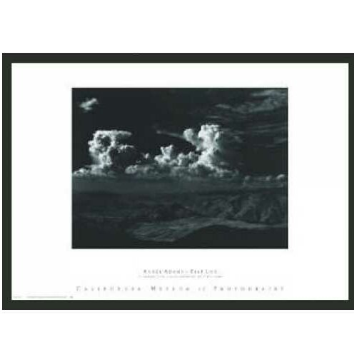 Frames By Mail 'Thunderheads' by Ansel Adams Framed Photographic Print