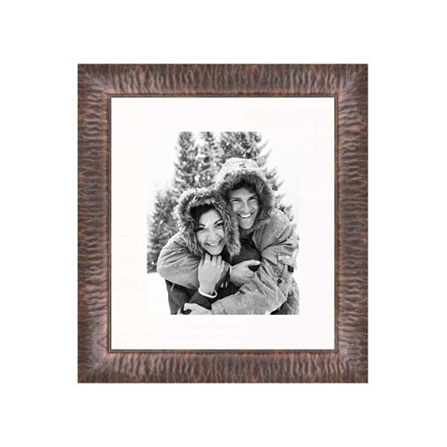 """Frames By Mail 20"""" x 24"""" Crinkled Frame in Copper"""