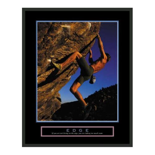 Frames By Mail Motivational Edge Framed Photographic Print