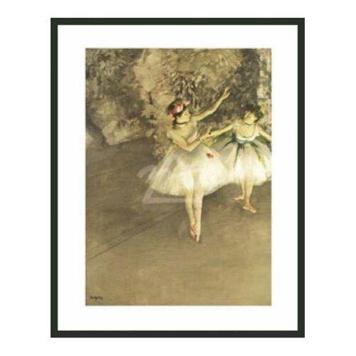 Ballet Dancers by Degas Framed Painting Print