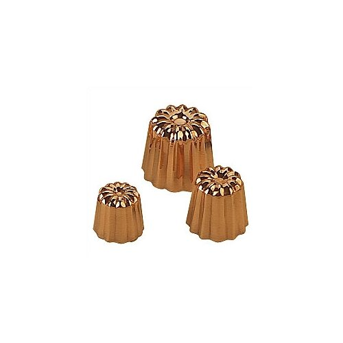 "Mauviel M'passion 2.2"" Copper Canele Mold"