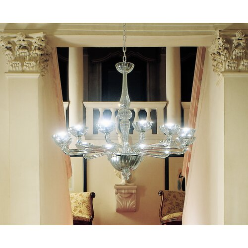 FDV Collection Archivio Storico Art. 566 12 Light Chandelier