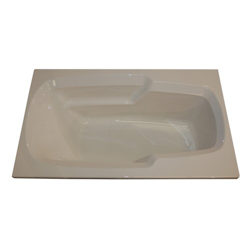 "American Acrylic 60"" x 36"" Arm-Rest Air Tub"