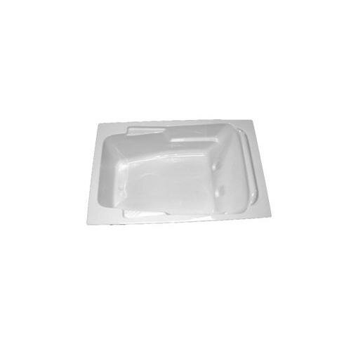 "American Acrylic 71"" x 41"" Arm-Rest Air Tub"