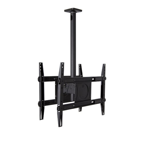 "OmniMount Dual Extending Arm/ Tilt Universal Ceiling Mount for 32"" - 65"" Screens"