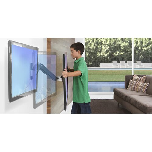 "OmniMount Interactive Extending Arm/ Tilt Wall Mount for 30"" - 60"" Screens"