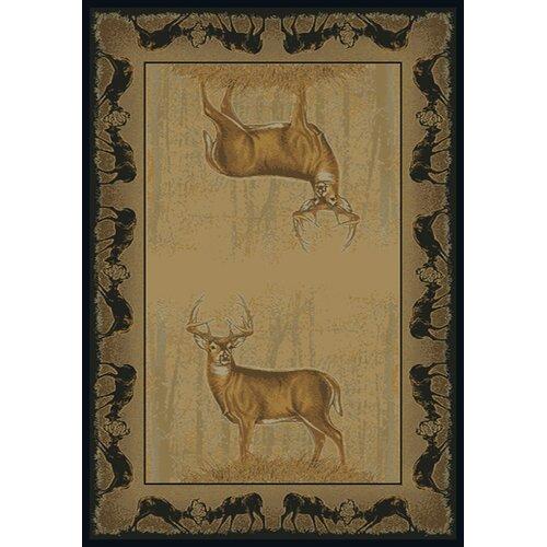Buckwear Buckwear Believe Deer Lodge Novelty Rug