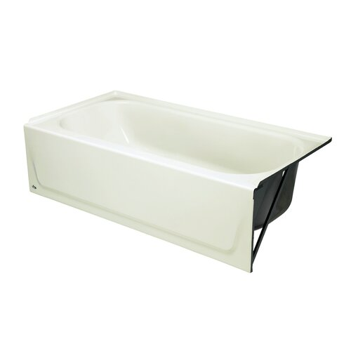 "Bootz Mapleleaf 60"" x 30"" Raised Outlet Bathtub"