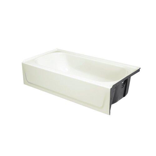 """Bootz Bootzcast 60"""" x 30"""" Standard Outlet Bathtub"""