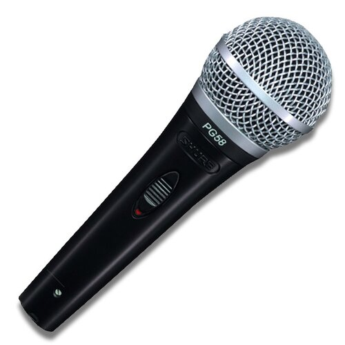 Shure Handheld Mic with XLR Connector