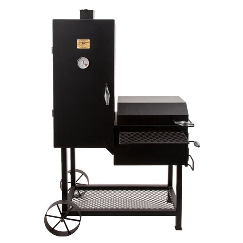 char broil oklahoma joe 39 s bandera offset charcoal smoker. Black Bedroom Furniture Sets. Home Design Ideas