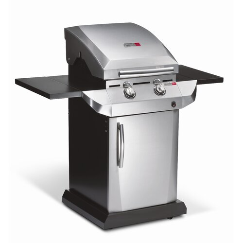 Char-Broil Performance 2-Burner TRU-Infrared Gas Grill with Folding Side Shelves