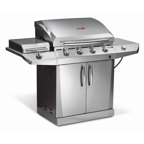 CharBroil TRU-Infrared Performance 4-Burner Deluxe Gas ...