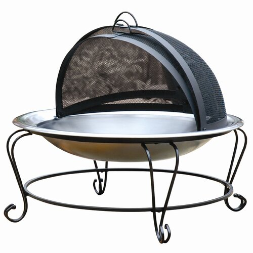 CharBroil High Profile Fire Bowl Stainless Steel Outdoor ...
