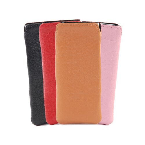 Gut Cases iPod Nano 4G Slim Leather Pouch in Red