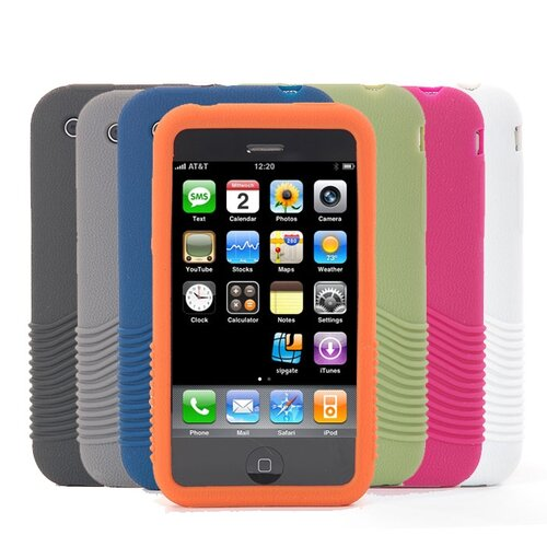 Gut Cases iPhone Gripper in Orange