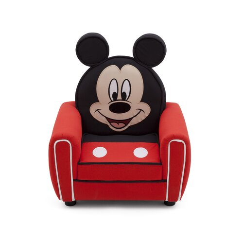 Mickey Mouse Figural Kid Upholstered Chair