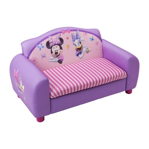 Delta Children Disney Minnie Mouse Kids' Sofa