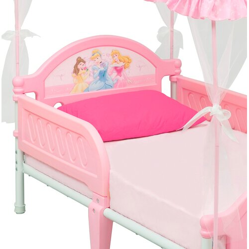 Delta Children Disney Princess Toddler Bed With Canopy