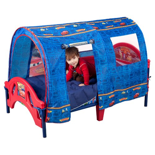 Delta Children Disney Pixar Cars Tent Toddler Bed