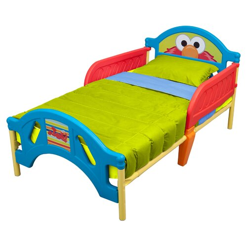 Sesame Street Plastic Toddler Bed