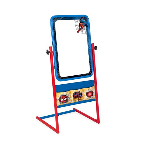 "Delta Children Spiderman Easel 3' 3.25"" x 1' 11"" Whiteboard"