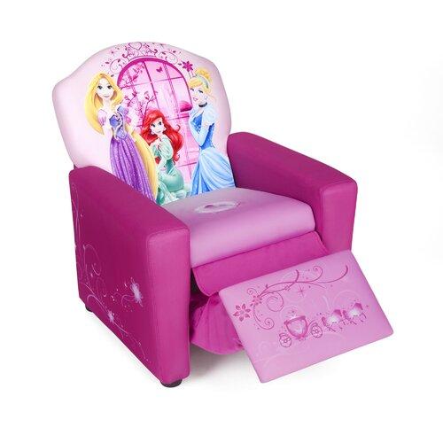 Delta Children Disney Princess Kids Recliner