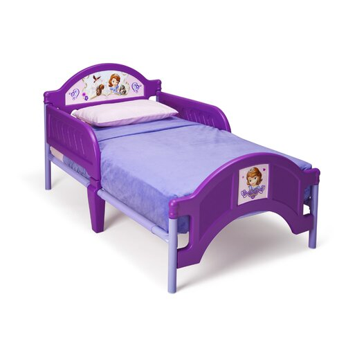 Delta Children Disney Sofia Convertible Toddler Bed
