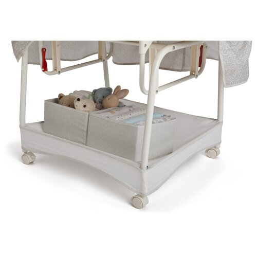 Delta Children Smooth Glide Linings Bassinet