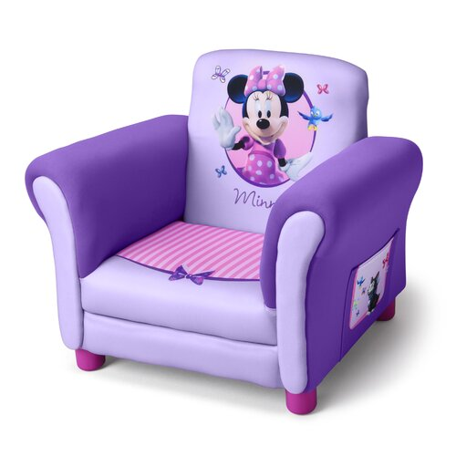 Delta Children Disney Minnie Mouse Kids Club Chair