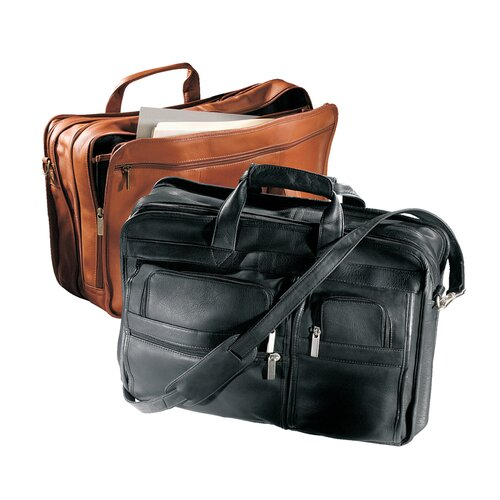 Vaqueta Napa Leather Briefcase