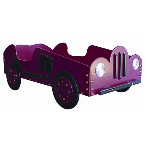 Just Kids Stuff Old Style- Race Car Toddler Bed
