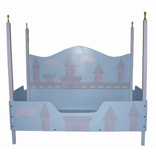 Just Kids Stuff Princess Castle Toddler Bed