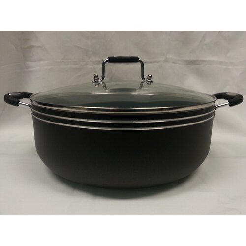 Imperial Healthy Choice 10-qt. Low Stock Pot with Lid