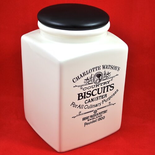 Henry Watson Charlotte Watson 80 Oz Biscuit Canister