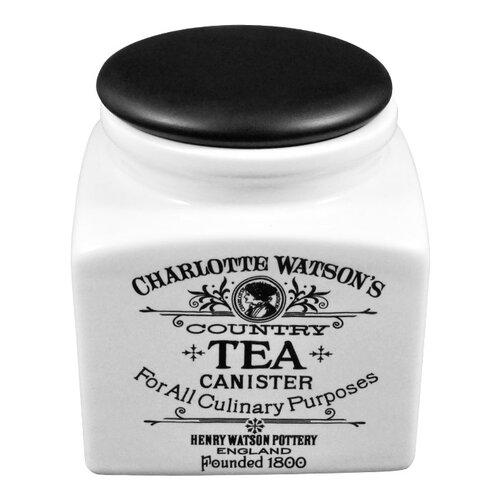 Henry Watson Charlotte Watson 32 Oz Tea Canister