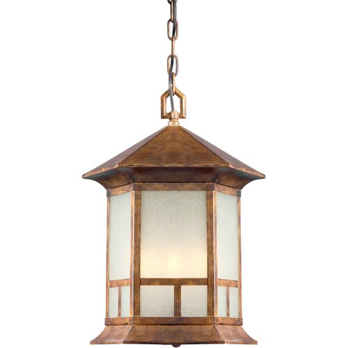 Forte Lighting 4 Light Outdoor Pendant