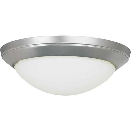 Forte Lighting Functional 2 Light Flush Mount