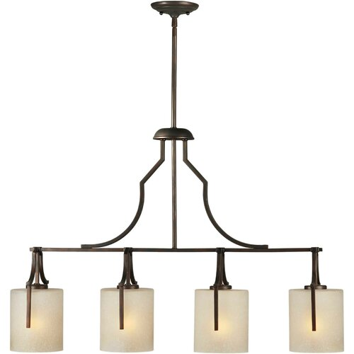 Forte Lighting 4 Light Kitchen Island Pendant & Reviews