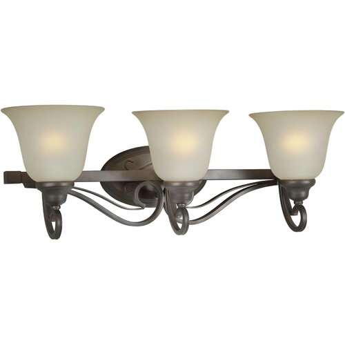 Forte Lighting 3 Light Bath Vanity Light