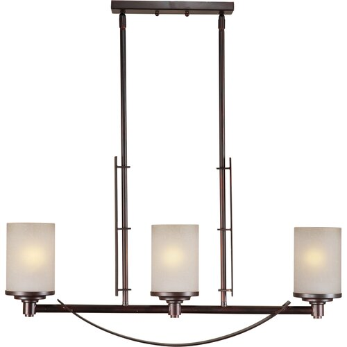 Forte Lighting 3 Light Kitchen Island Pendant