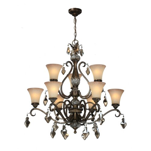 Artcraft Lighting Vienna 9 Light Chandelier