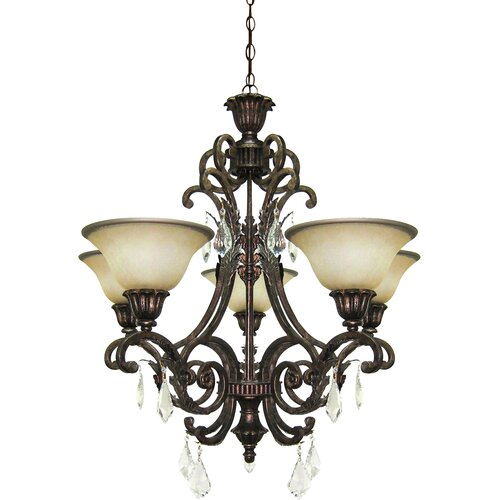 Artcraft Lighting Florence 5 Light Mini Chandelier