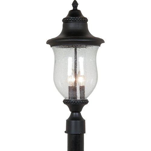 Artcraft Lighting Premiere 3 Light Outdoor Post Lantern