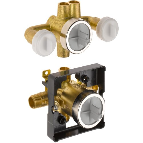 Delta Universal Mixing Rough-In Valve with Service Stops