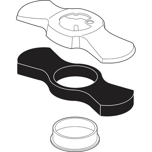 Delta Addison Escutcheon and Gasket