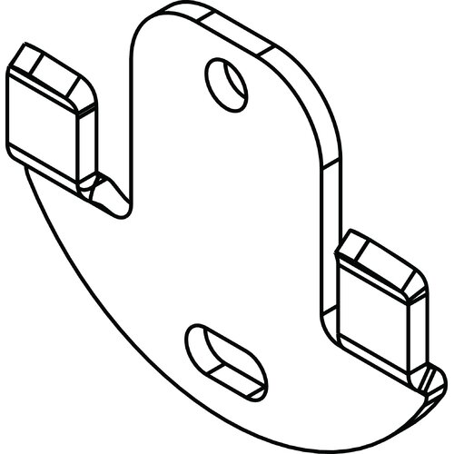 Delta Leland Accessory Mounting Hardware