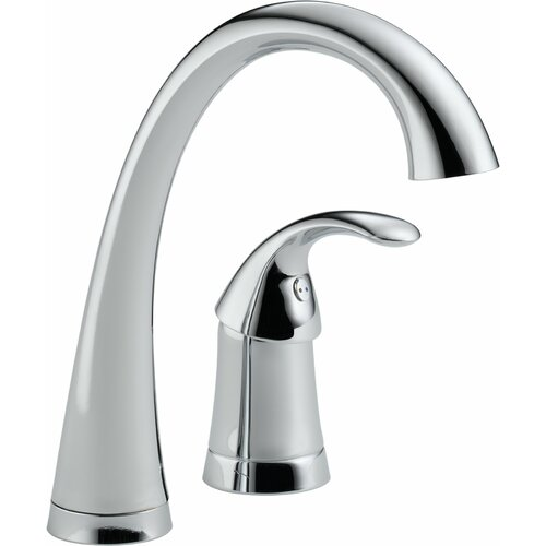 Delta Pilar Single Handle Widespread Bar Faucet with Diamond Seal Technology